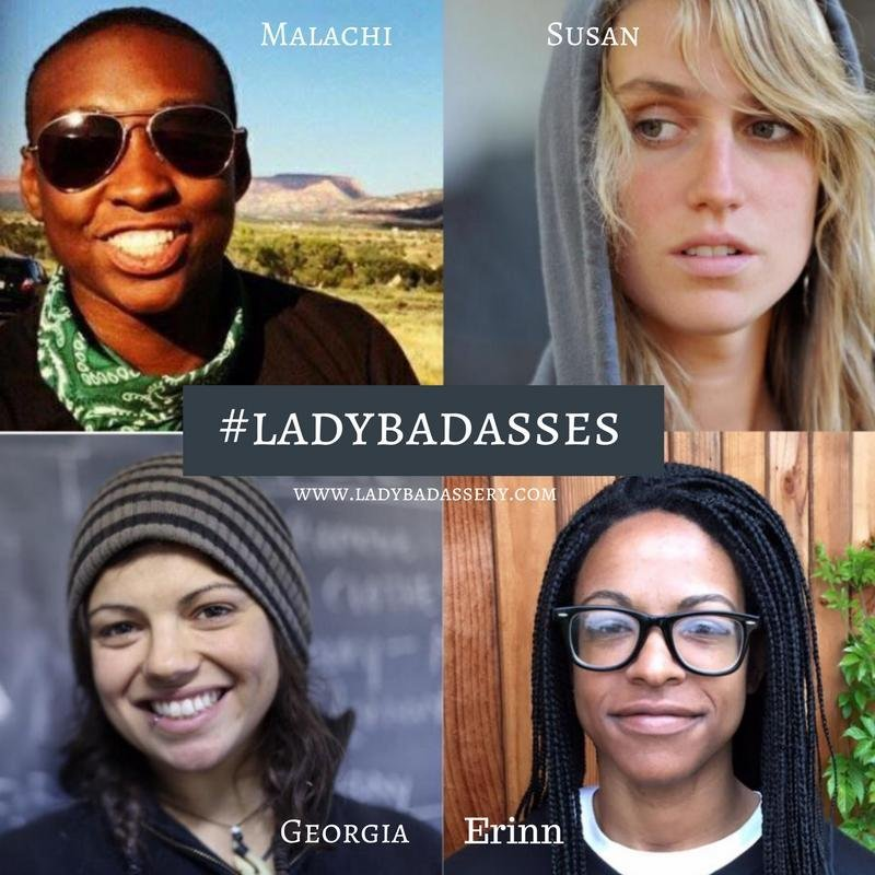 Saying yes to #Ladybadassery
